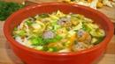 Весенний Суп с Блинчиками и Фрикадельками Попробуйте сами