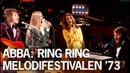ABBA: Ring Ring - Live at Melodifestivalen 1973 Eurovision Rare Unreleased