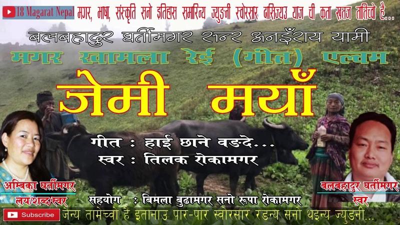 Hai Chhane Wongde W.L. Ambika Gharti Magar V. Tilak Roka Magar, Bal Bdr Gharti | Magar Kham Song