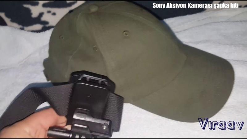 Sony Aksiyon Kamera hat kit şapka kiti ViraAv