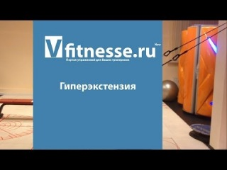 Гиперэкстензия на римском стуле (Vfitnesse.ru)