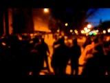 Днепропетровск. 26.01.14 Разгон митингующих группой Антимайдана.