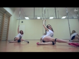 Закрытый курс по Pole Exotic в Kats Dance Studio   тренер - Юлия Челакова