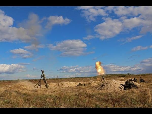 Артилерісти Нацгвардії проходять польовий вишкіл на Рівненщині