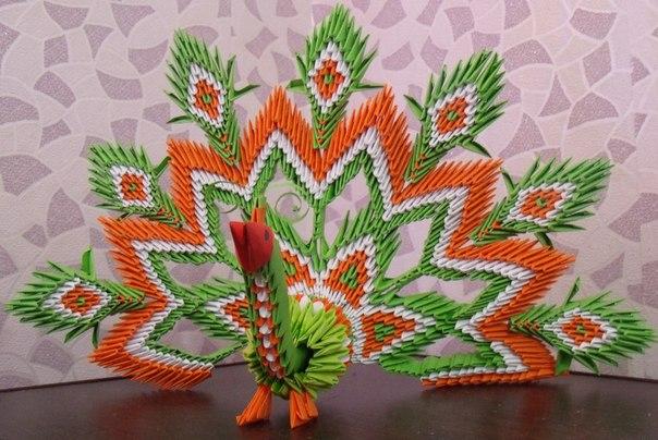 Оригами из модулей на заказ- в