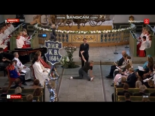 Nils Bech «Thank You» - King Harald and Queen Sonja celebrate their Golden Wedding in Oslo Cathedral