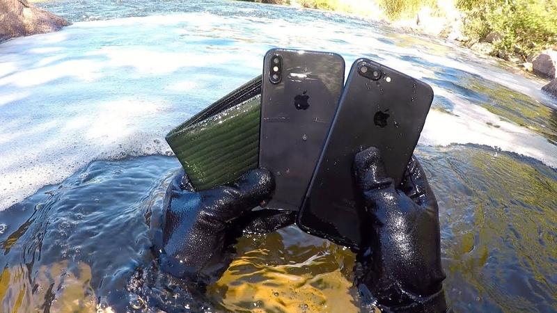 НАШЕЛ iPhone X В РЕКЕ😱10 СУМАСШЕДШИХ НАХОДОК ПОД ВОДОЙ