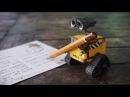 Мини игрушка робот Валли из мультфильма - купить и играть.