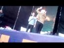 Хэнк и Коннор на сцене Bryan Dechart QA session at Comic Con Ukraine день второй