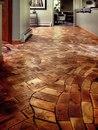 Необыкновенный деревянный пол