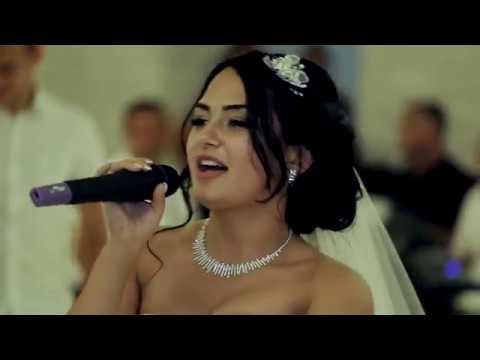 Рэп невеста поет на свадьбе Поет для жениха Очень красиво MFYRND