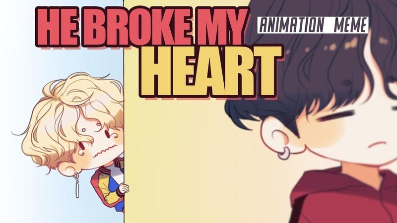 [BTS ANIMATIC MEME] - He broke my heart(YOONMIN) - {43k subs Special}