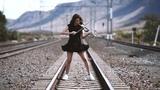 Caitlin De Ville - Don't You Worry Child (Swedish House Mafia) - Electric Violin Cover