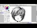 Как рисовать анимеманги (от эскиза к готовому арту). Урок №6