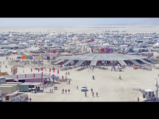 Drone views of burning man 2018