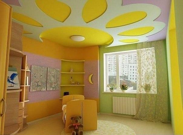 Желтый цвет символизирует чистоту и яркость солнечного света, поэтому для оформления детской комнаты подходит как нельзя кстати, как впрочем и любой другой желтой гостиной или спальни. Комната всегда будет выглядеть светло и празднично, вызывать у ребенка хорошее настроение и положительные эмоции.