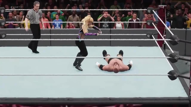 Natalya vs Triple H Mixed Match Challenge