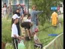 На озере Щорс в Якутске прошло соревнование по рыбной ловле «Ловись, рыбка»