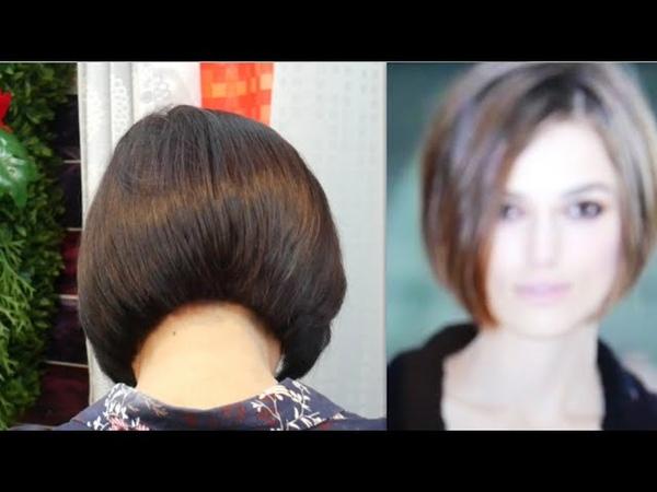 Bob haircut tutorial ตัดผมบ็อบสไตลเรียบ ดูเก๋
