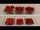 Варенье из малины/ красной смородины/ клубники с ванилью и перцем за 5  минут