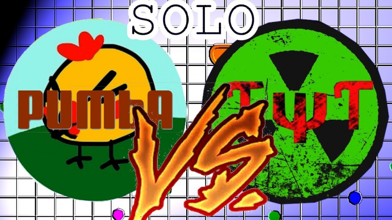 Agar.io SOLO Vs TψT Team / Mission Complete /Story of life