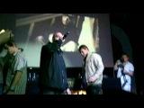 Slim (Centr) feat.Митя (Константа) Джино Скин (LIVE-Воздух-080911)