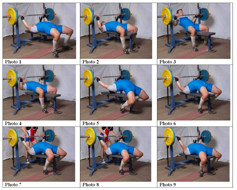 Awesome Sheiko Bench Program Part - 6: ... Benchpress. Choose Any You Wish. You Probably Donu0027t Have Such  Flexibility As Girl On The Photos Has. Practice, Practice And Practice.