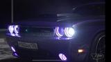 Фиолетовый Демон. Dodge Challenger R/T 5.7 Hemi 650 HP. VIN DIESEL Глаза.