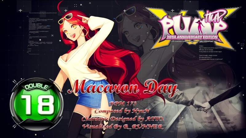 Macaron Day D18 | PUMP IT UP XX: 20th Anniversary Edition ✔