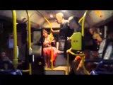 Видео  В Сети появилась видеозапись драки поляков и украинца в общественном транспорте    KP RU