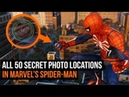 ALL 50 Secret Photo Locations In Marvel's Spider-Man