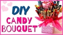 How to make a CANDY BOUQUET DIY Gift Ideas