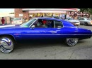 "Candy Blue 72 Caprice Donk on 26"" DUB Hurricayne Floaters - 1080p HD"