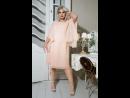YOURS LONDON Розовое многослойное платье из шифона 156358