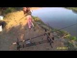 Рыбалка в Казахстане. Поклевка карася