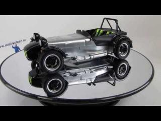1:18 Caterham SuperSeven JPE — коллекционная масштабная модель