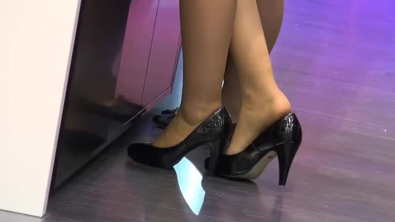 Candid hostess nylon feet - pantyhose shoplay 010