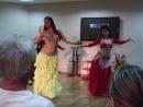Танец Арабские барабаны,исполняют Женя,Марина,Алла