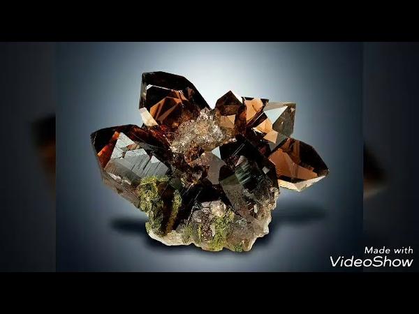 Продолжение Темы о Камнях Минералах Раух Топаз голубой топаз кварц волосатик гор хрусталь роз кварц