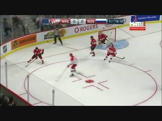 Россия (U-20) - Канада WHL - 3:1 (2-й матч) Голы