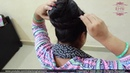 Easy Simple DIY Hairstyle For Super Long Hair | DIY Twisted Bun For Long Hair Using Hair Stick.