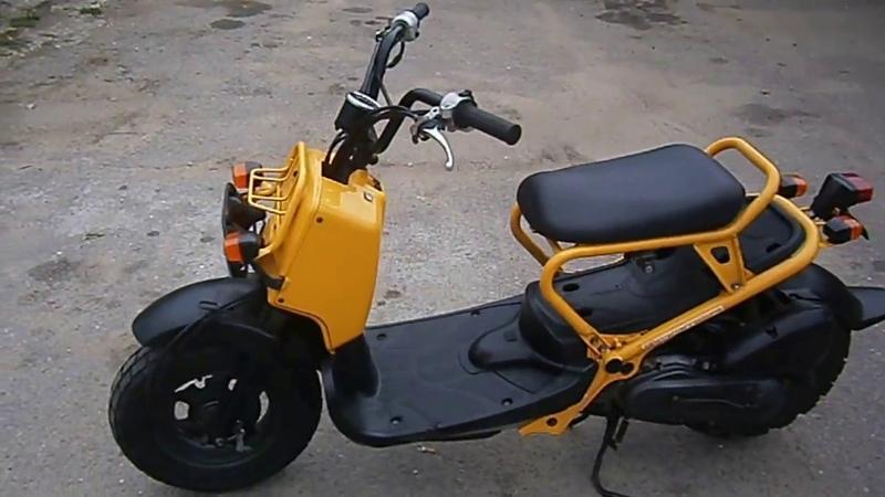 Скутер Honda Zoomer от компании САН-МОТО. Короткий обзор