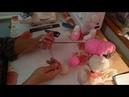 Мастер класс - Туфельки пинетки для девочки