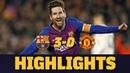 BARÇA 3-0 MANCHESTER UNITED | Match highlights