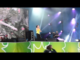 Zlata Ognevich - Gravity at a concert in Kiev Day 26.05.13 (LIVE)
