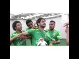 Пато проиграл на тренировке Сборной Бразилии, и получал щелбаны.