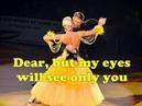 Dean Martin - Sway (with lyrics)