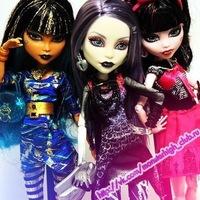 Группа вконтакте одежда для кукол монстер хай