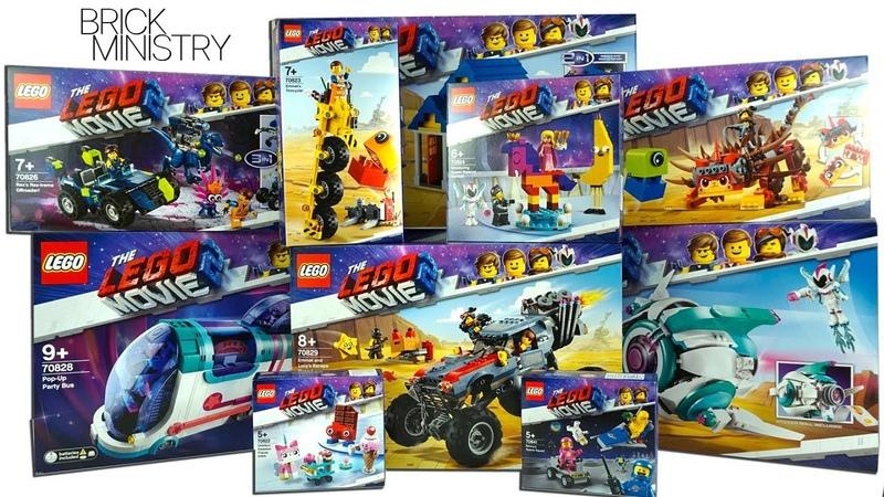 ❗️ALL NEW 2019 LEGO MOVIE 2 Sets Haul!
