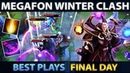 BEST PLAYS - MegaFon Winter Clash Dota 2 - FINAL DAY